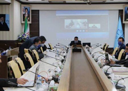 ارتباط مردمی رئیس کل دادگستری استان با مراجعان به صورت ویدئوکنفرانس برگزار شد