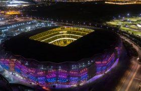 سومین ورزشگاه جام جهانی ۲۰۲۲ کامل شد