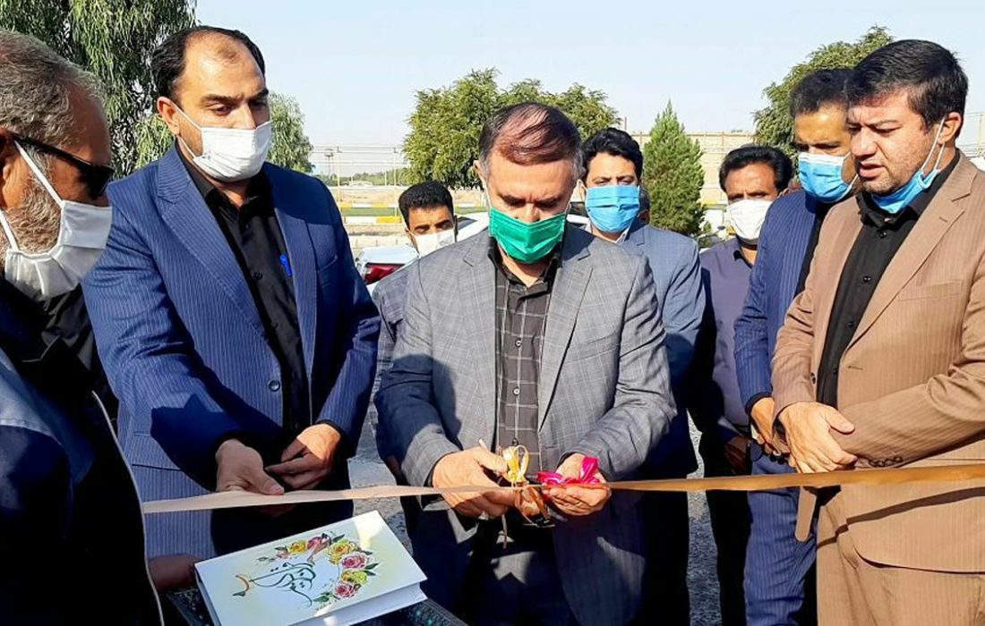 افتتاح ۶ پروژه در بخش زیدآباد شهرستان سیرجان