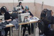 راهاندازی کارگاه خیاطی ویژه خانواده زندانیان در سیرجان