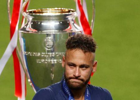 واکنش نیمار به ناکامی در فینال لیگ قهرمانان اروپا