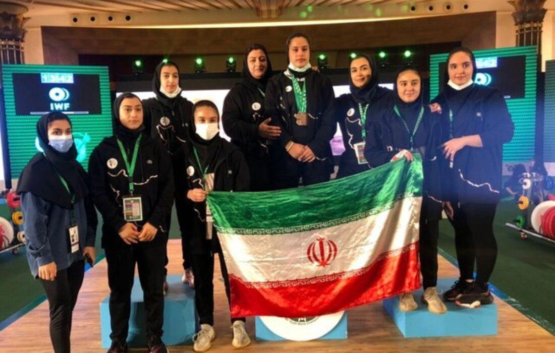 سومی و پنجمی تیمهای دختران و پسران ایران در قهرمانی وزنهبرداری نوجوانان جهان